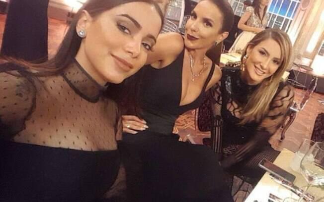 Anitta, Ivete Sangalo e Claudia Leitte