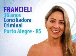 Francieli, 36 anos, conciliadora criminal