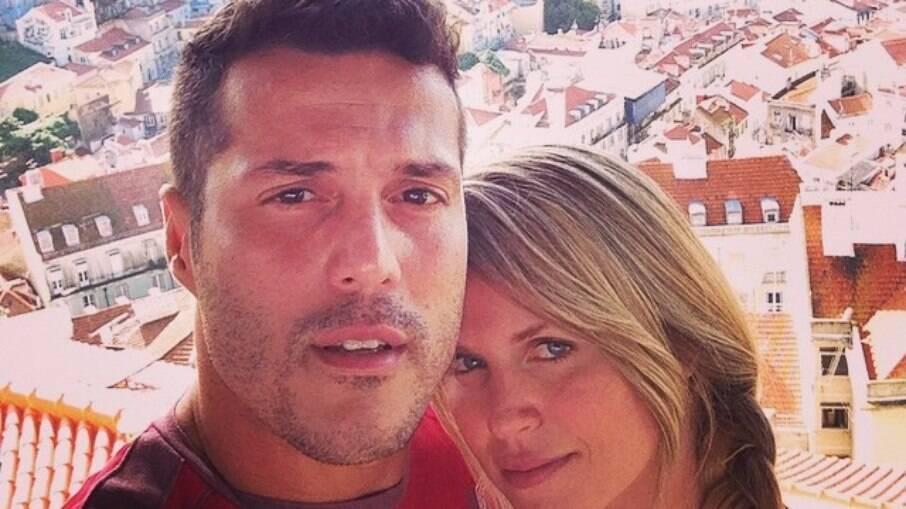 Julio Cesar e Susana Werner