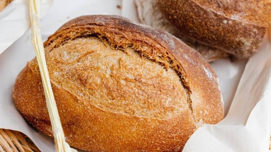 Pão de fermentação caseira