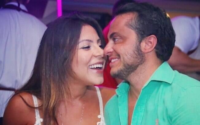 Thammy e Andressa, sua esposa