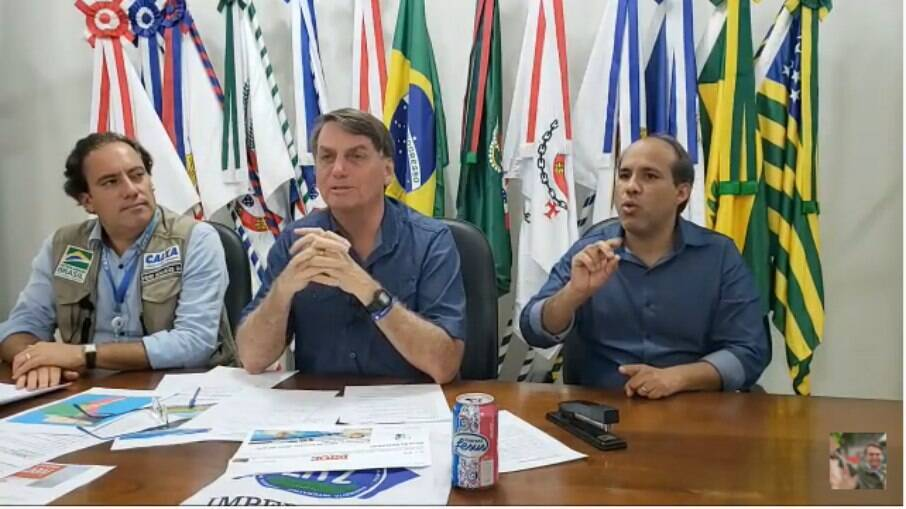 Live semanal do presidente Jair Bolsonaro desta quinta (20)