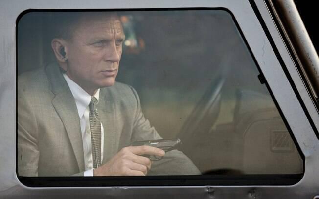 Daniel Craig se machuca e filmagens do novo filme de James Bond é suspensa