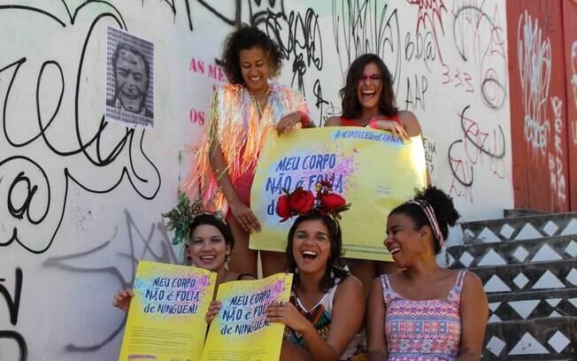 Campanha contra assédio começou em Recife, em 2017, e após um ano já conta com a ajuda de outros grupos pelo País