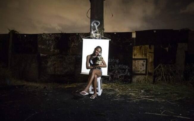 Ketellin Silva: aos 17 anos, é já é mãe de uma criança e viciada em crack