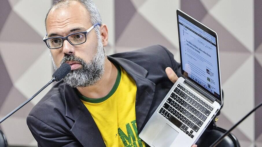 Blogueiro bolsonarista Allan dos Santos