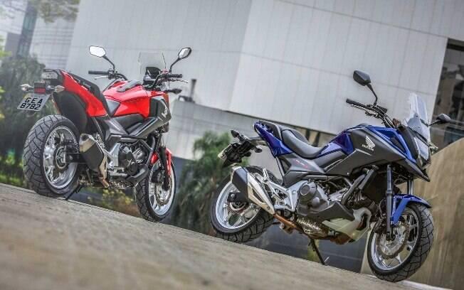 Honda NC 750X: Trail procura manter seu apelo com a chegada de novas opções de cor. Duas peroladas e uma fosca