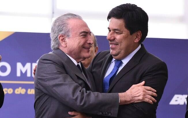 Mendonça Filho e o presidente Michel Temer