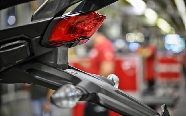 Nova Ducati Multistrada será primeira moto de produção com radares, o que deverá ajudar na parte de segurança