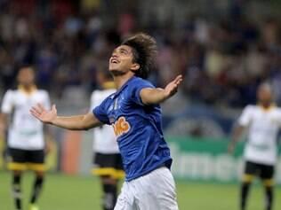 Moreno marcou o primeiro tento celeste e atingiu marca histórica como maior artilheiro estrangeiro do Cruzeiro