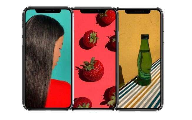 O novo iPhone X apostou em um design diferenciado. Com uma tela maior e sem botões físicos.