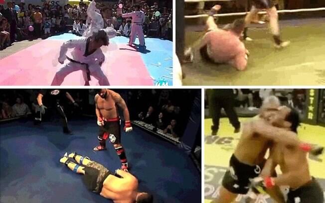 Veja imagens de uma luta fail e dê bastante risada
