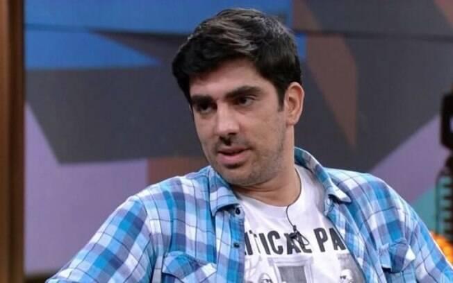Marcelo Adnet foi o convidado de Pedro Bial do