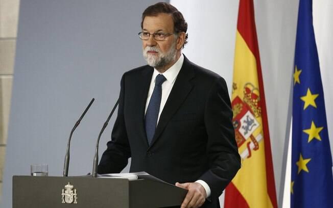 Primeiro-ministro da Espanha, Rajoy disse que governo regional atuou em favor de