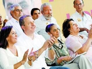 Ao lado de Marina, Campos participou de convenção em Salvador