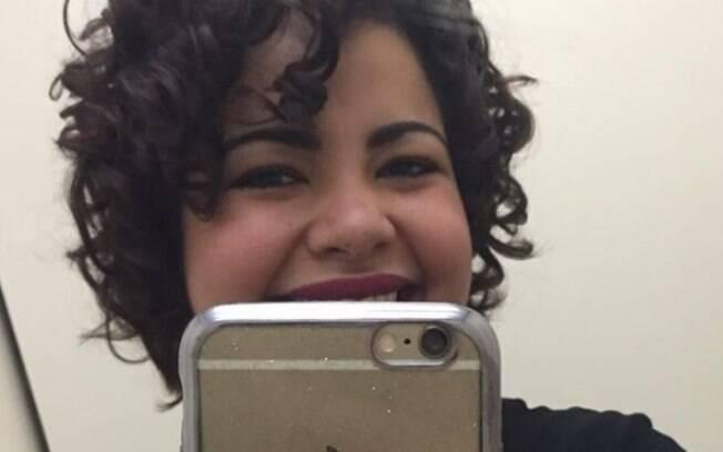 Daiane, assim como Fernanda Souza,  ficou viciada em cortar o cabelo desde a primeira vez que