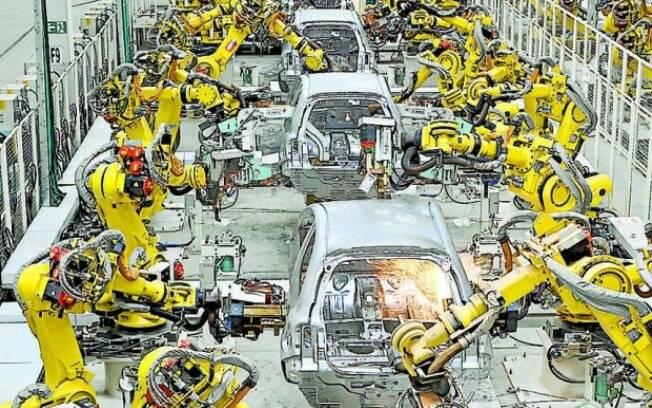 Em todo o ano passado, o recuo na produção de veículos foi de 22,8% sobre 2014