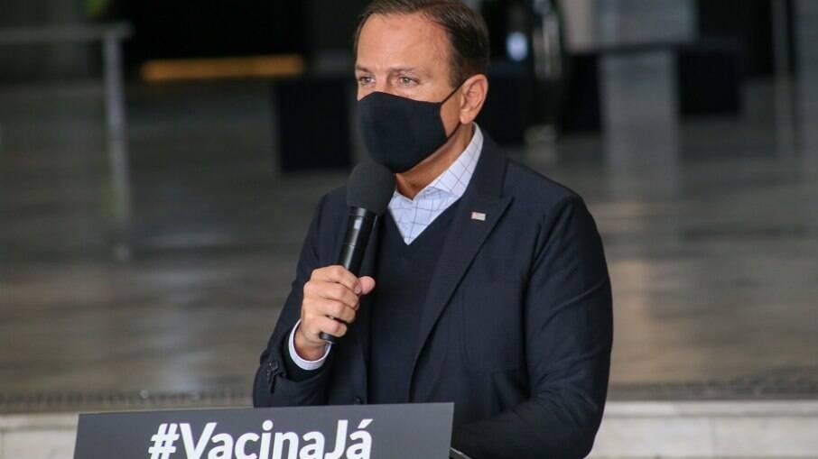João Doria (PSDB), governador de São Paulo