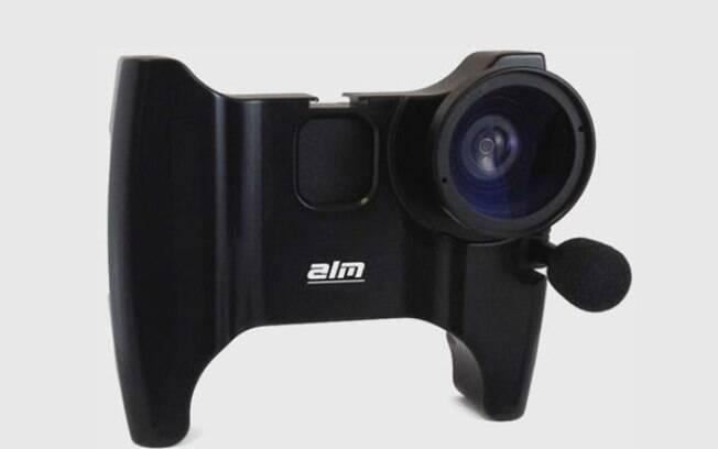 096ccdbb4e5 A mCam também tem um microfone externo de 180 graus. O acessório custa US