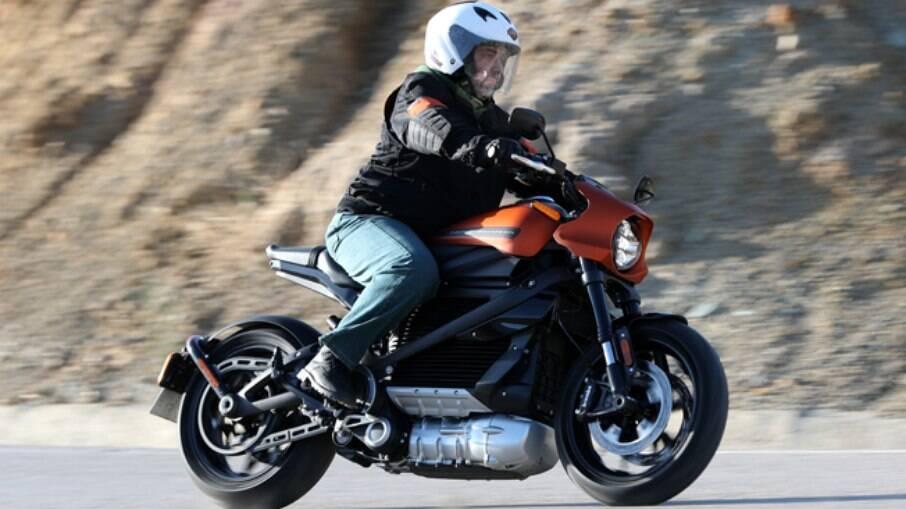 Harley-Davidson LiveWire nas estradas espanholas