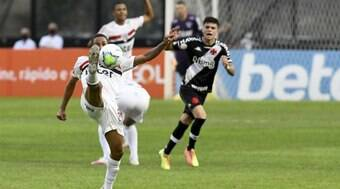 São Paulo e Vasco travam duelo pela competição; onde assistir