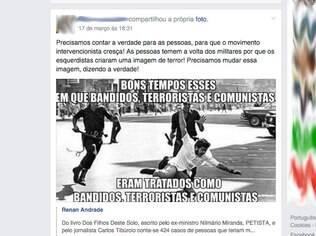 Imagem divulgada no Intervencionistas Brasil, de Predezel