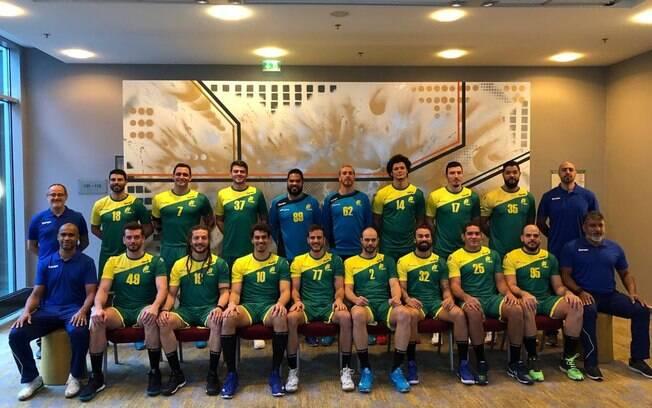 Seleção masculina do Brasil estreia nesta sexta-feira (11) no Mundial de Handebol
