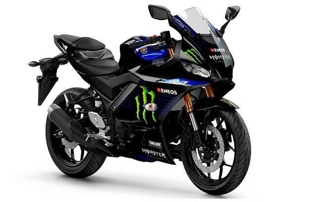 Yamaha R3 2021: Visual é inspirado nos modelos de ponta que competem na MotoGP