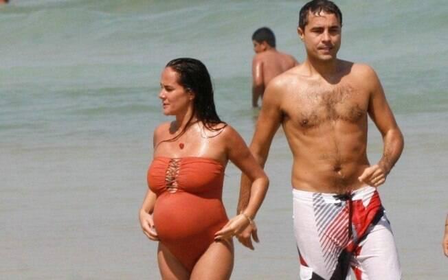 Ricardo Pereira e Francisco Pinto: à espera do primeiro filho