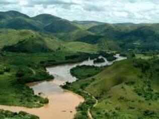 Importante no abastecimento do Rio de Janeiro, Paraíba do Sul está bem abaixo do seu volume de água