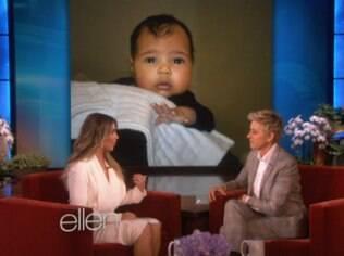 Kim Kardashian faz revelações sobre a gestação no 'The Ellen Degeneres Show'