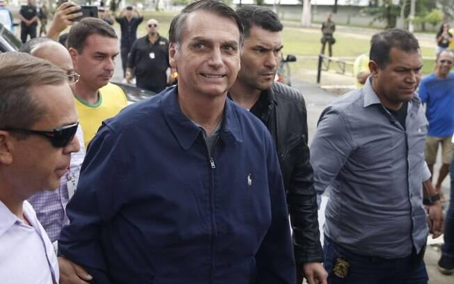 Jair Bolsonaro levou uma facada no dia 6 de setembro durante evento de campanha, em Juiz de Fora