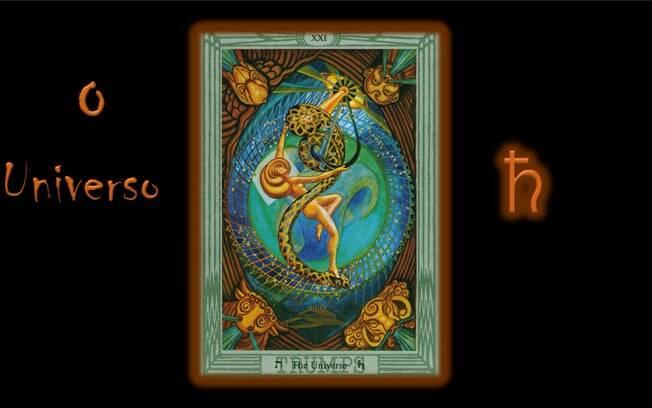 Previsão da semana do tarô de Thoth indica O Arcano XXI: O Universo