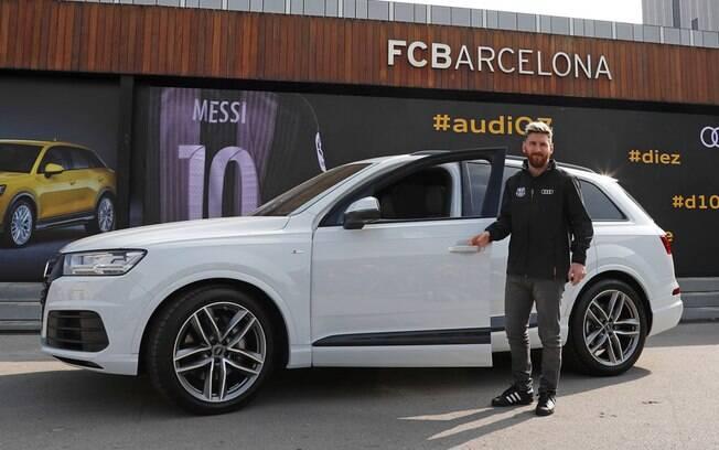 Ao longo da parceria com a Audi, Messi contou com os utilitários SQ5 e SQ7, além da perua RS6 Avant