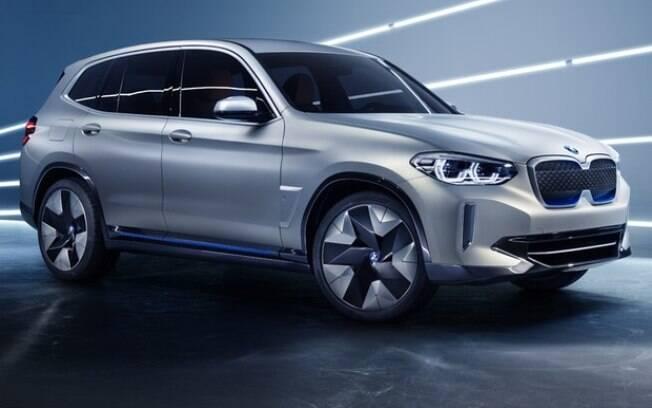 O novo SUV iX3 chegará ao mercado em 2020 e será oferecido exclusivamente na versão totalmente elétrica