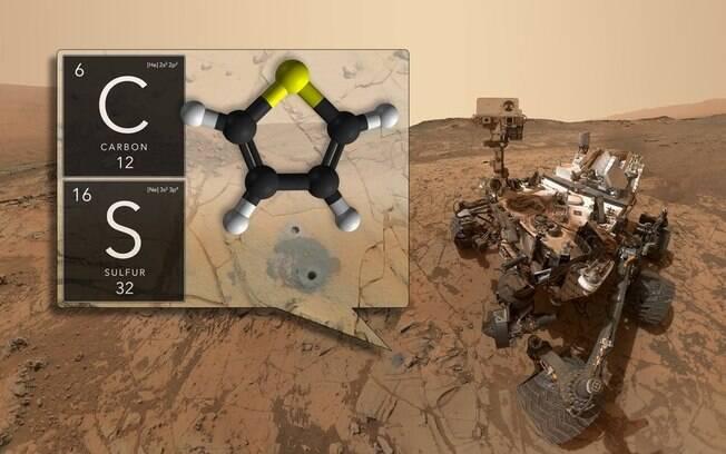 """Descobertas são consideradas """"bom sinal para futuras missões que irão explorar a superfície e o subsolo de  Marte"""