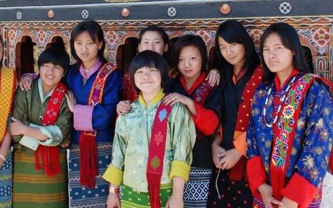 Apesar da economia, povo do Butão é um dos mais felizes do mundo