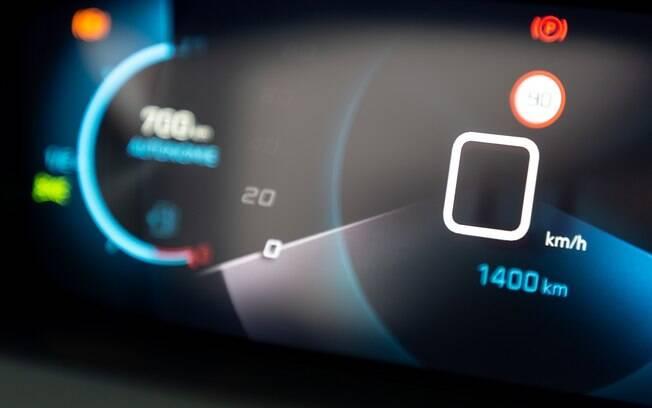Mostrador colorido e com boa resolução será um atrativos do novo Peugeot 208 que será vendido no Mercosul