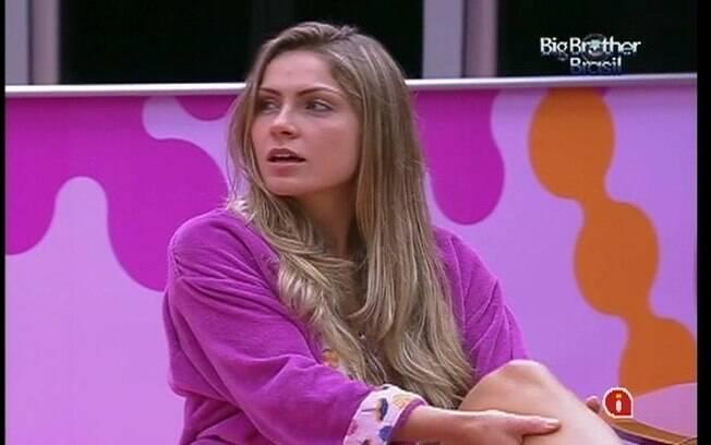 Renata não aprova atitude de Jonas