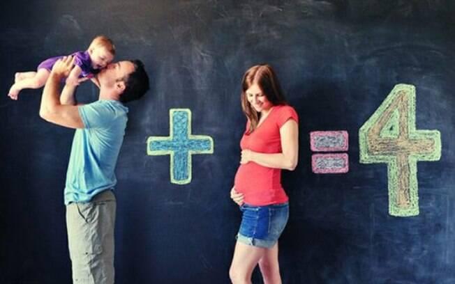 Faça uma equação matemática na parede e registre o momento