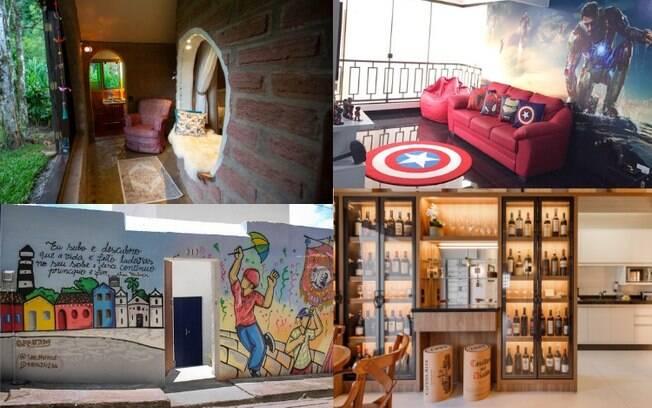 Existem muitas casas temáticas pelo Brasil que valem a pena conhecer e tornar a viagem ainda mais especial