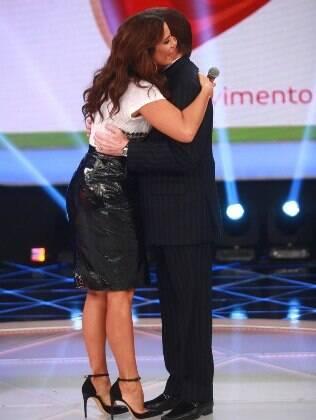Ivete Sangalo dança com Silvio Santos no Teleton 2013 na noite de sábado (26)