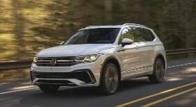 VW mostra novo SUV Tiguan de 7 lugares antes da estreia