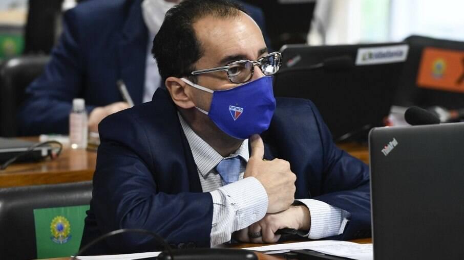 Senador Jorge Kajuru (Cidadania-GO) divulgou áudio de conversa com Bolsonaro