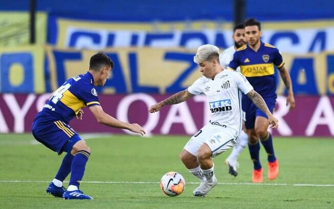 Boca Juniors x Santos