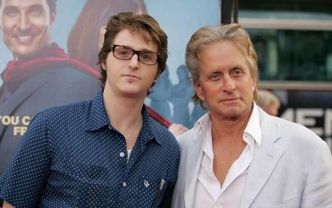 Cameron e Michael Douglas