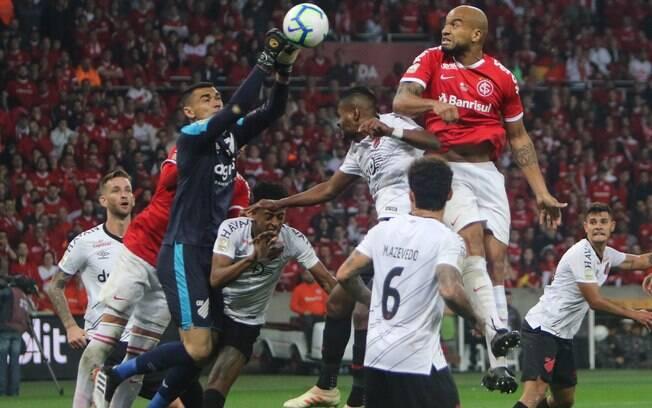 Athletico-PR venceu o Inter duas vezes na final da Copa do Brasil
