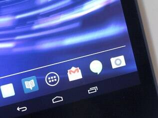 Nexus 7 roda versão 4.4 do Android