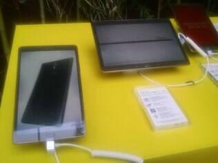 Samsung lança dois novos tablets