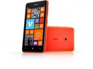 Lumia 625 é smartphone de baixo custo com tela de 4,7 polegadas